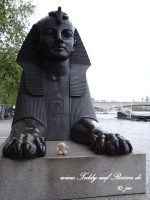 Teddy und die Sphinx in London